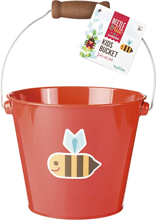 Beetle & Bee Kids Bucket (Color May Vary)