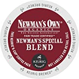 Newman's Own Special Blend Coffee, Medium Roast Coffee K-Cup Portion Pack for Keurig K-Cup Brewers (Pack of 30, net wt. 32.1 oz.)