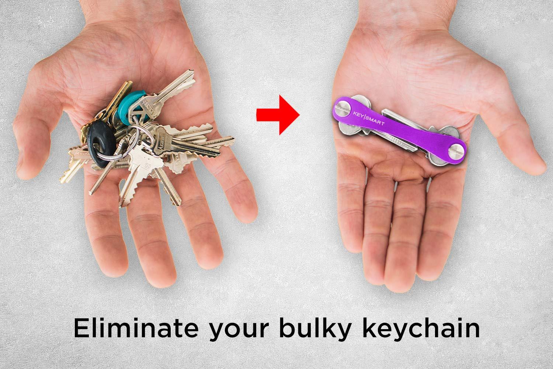 Amazon.com: KeySmart Classic - Organizador de llaves y ...