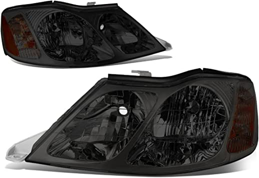 DNA Motoring HL-OH-088-SM-CL1 Pair of Headlight For 00-04 Avalon