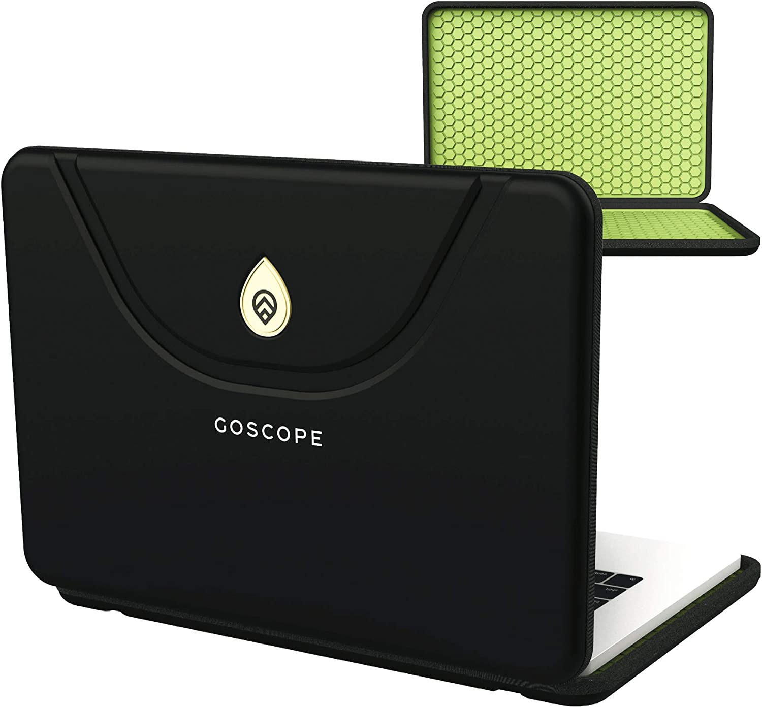 GoScope Applekeeper 16 - Rigid Exterior Notebook Sleeve Compatible with MacBook Pro 16-inch   Apple (Late 2019/Early 2020) Compatible with MacBook Pro 16