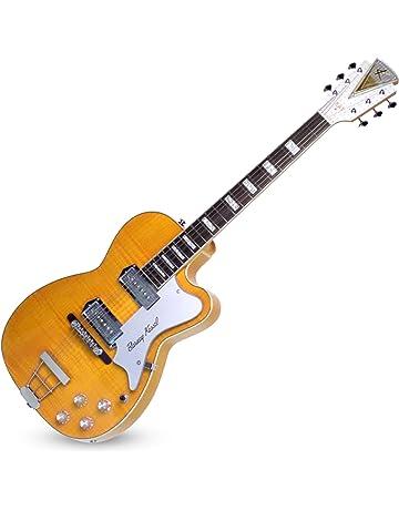 Kay Vintage Reissue Barney Kessel 6 String Semi-Hollow-Body Electric Guitar, Right