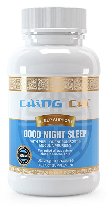Good Night Sleep Pills | Natural Sleeping Aid | With Melatonin, Gaba, Phellodendron Root