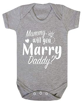 BABY BOY,GIRL Mummy /& I LOVE Daddy WORDING VEST,ROMPER,BABYGROW BODYSUIT
