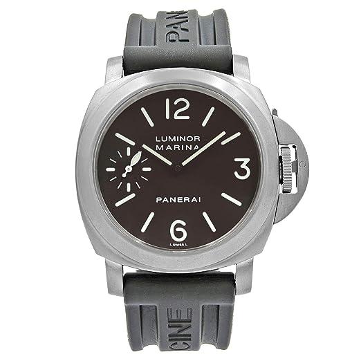 Panerai Luminor Marina PAM00118 - Reloj mecánico de Cuerda Manual para Hombre (Certificado prepropietario)