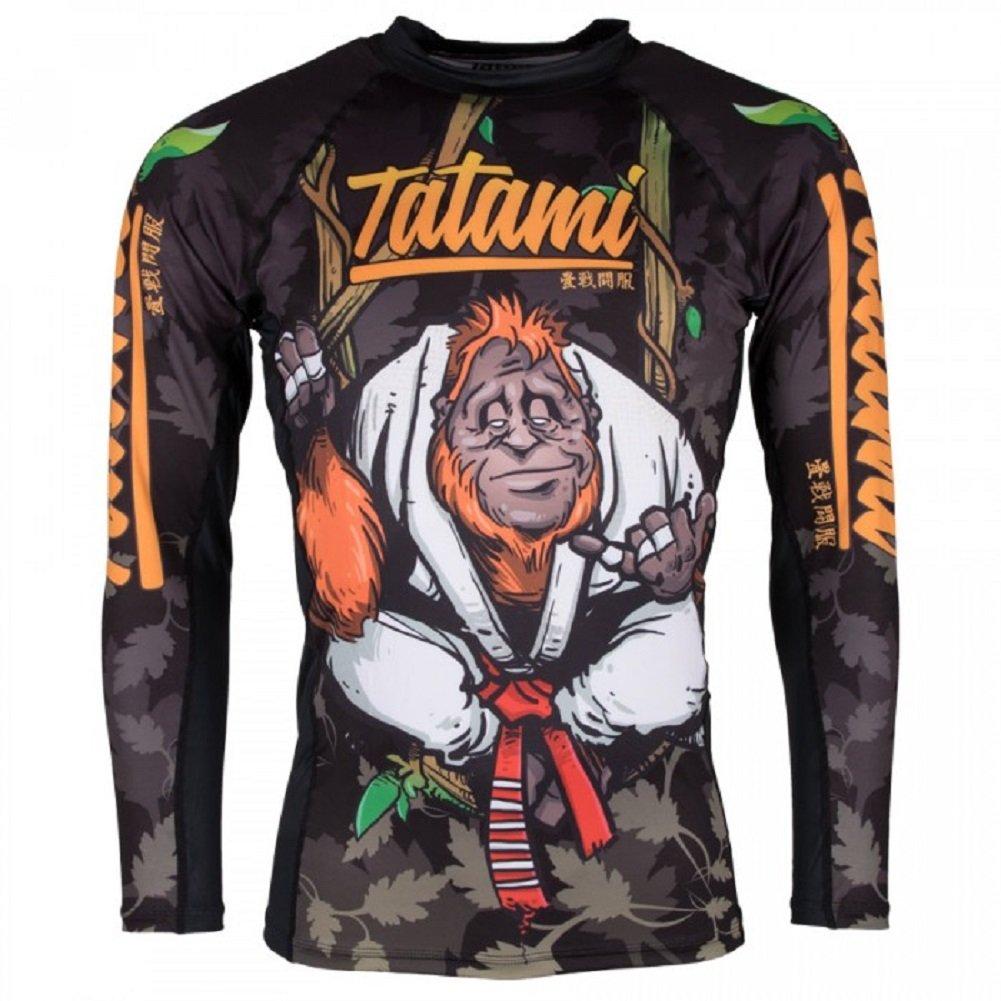 BJJ MMA Grappling Compresi/ón Camiseta Tatami Rashguard Hang Loose orangu Tang/ /Funci/ón Camiseta