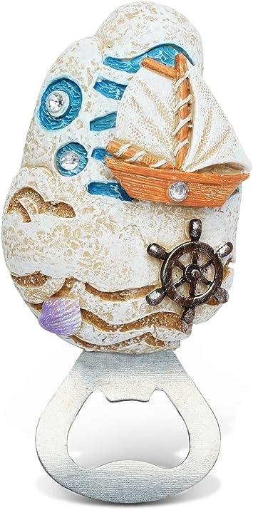 Nautical Bottle Opener SAND DOLLAR Metal by Sea Life NICE!