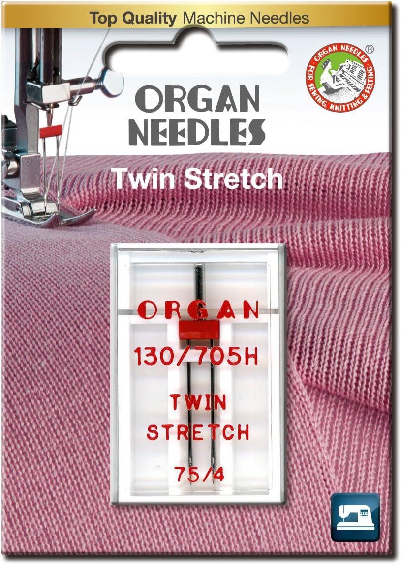 Zwillingsnadel Organ Stretch
