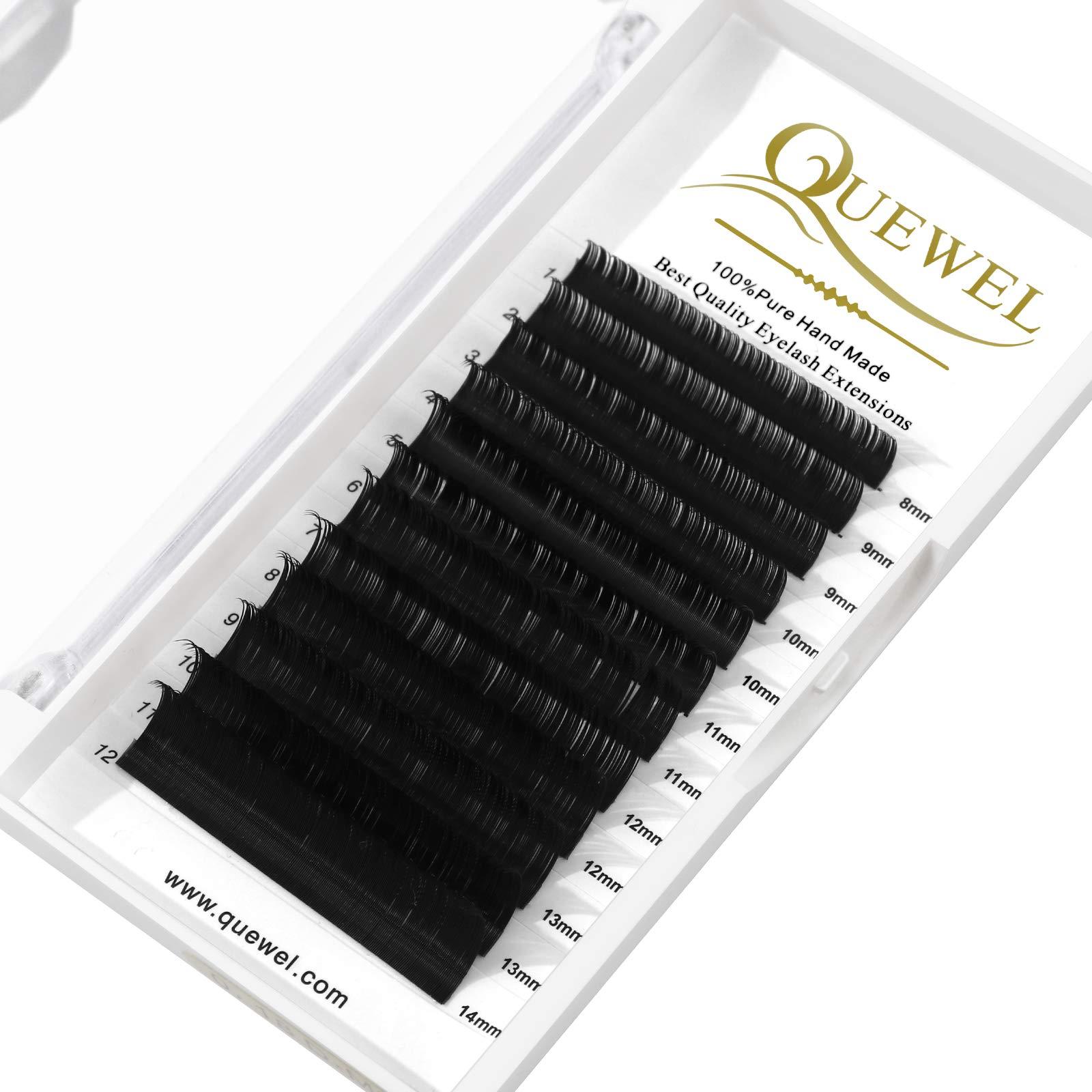 Eyelash Extension Supplies 0.15 D Curl Mix-8-14mm Classic Individual Lash Extensions Optinal 0.03/0.05/0.07/0.10/0.15/0.20 C/D Single 8-25mm Mix 8-14mm 15-20mm 20-25mm (0.15 D MIX-8-14mm)