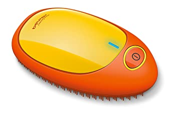 Beurer HT10 - Cepillo iónico desenredante, color naranja-amarillo: Amazon.es: Salud y cuidado personal