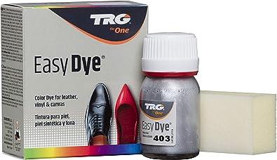 TRG The One - Tinte para Calzado y Complementos de Piel | Tintura para zapatos de Piel, Lona y Piel Sintética con Esponja aplicadora | Easy dye #403 ...