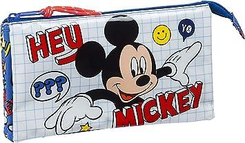 Safta Estuche Escolar de Mickey Clubhouse, Multicolor (Mickey Mouse Things): Amazon.es: Equipaje