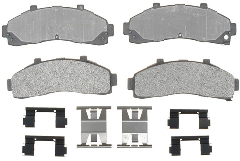 Brake System Replacement Parts ACDelco 17D1016M Professional Durastop Semi-Metallic Front Disc Brake Pad Set