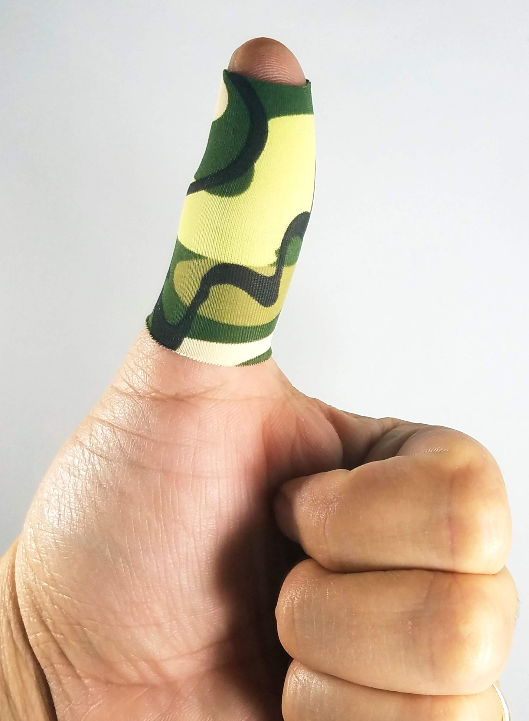 Bowling Thumb Sock BTS (Camouflage) - Open TIP