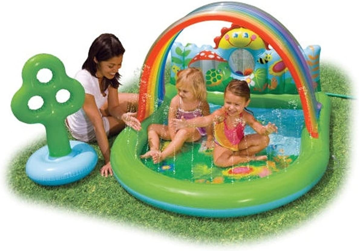 Piscina hinchable p/niños con bolas