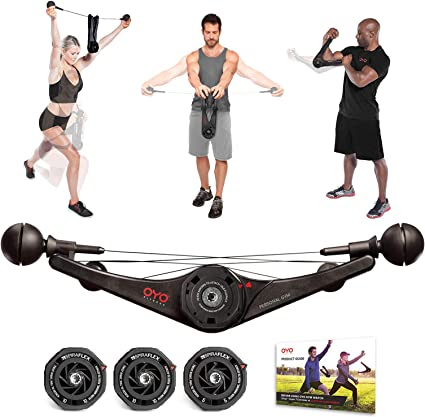 OYO DOUBLEFLEX Personal Gym Total Body Workout Home Office Travel NEW IN BOX