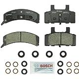 Bosch BC369 QuietCast Premium Ceramic Disc Brake Pad Set For Select Cadillac; Chevrolet Astro, Blazer, Express, C1500/2500 Pickup, Suburban, Tahoe; GMC Safari, Savana, Suburban, Yukon + More; Front