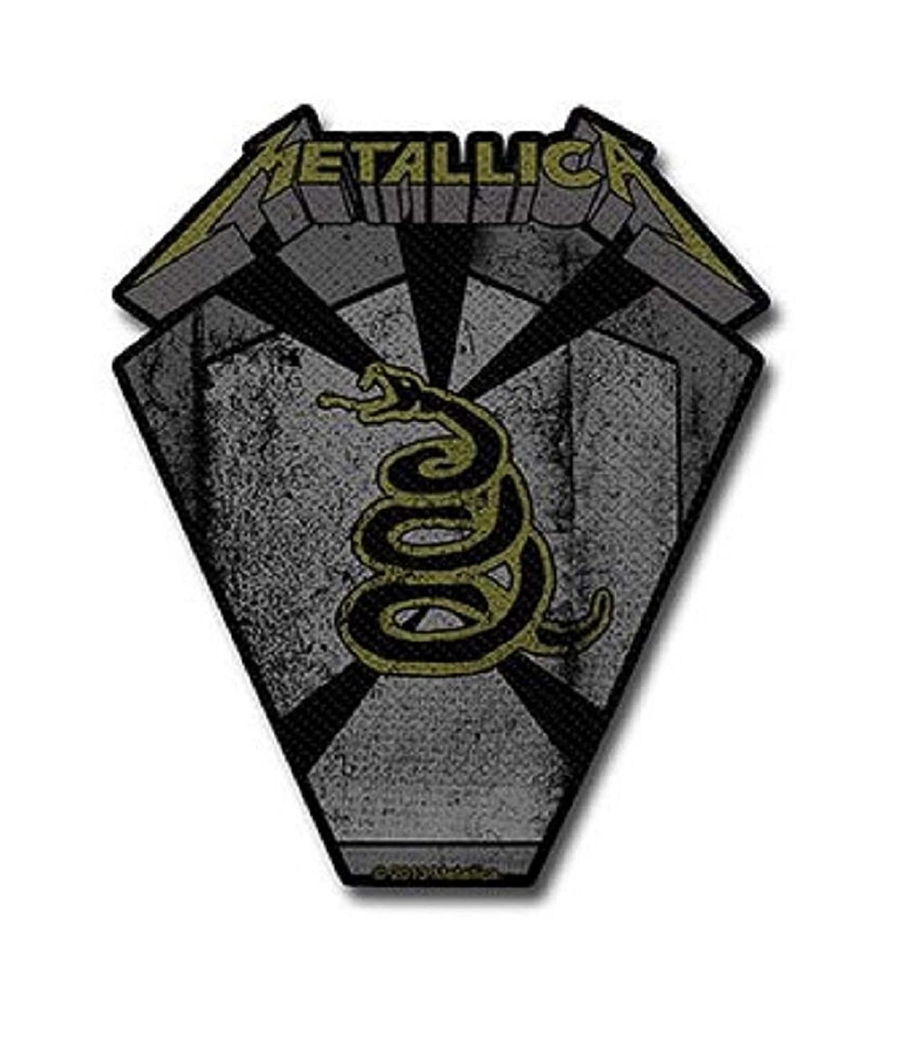 Metallica Pit Boss Classic Logo Official New Black Cut Out Patch