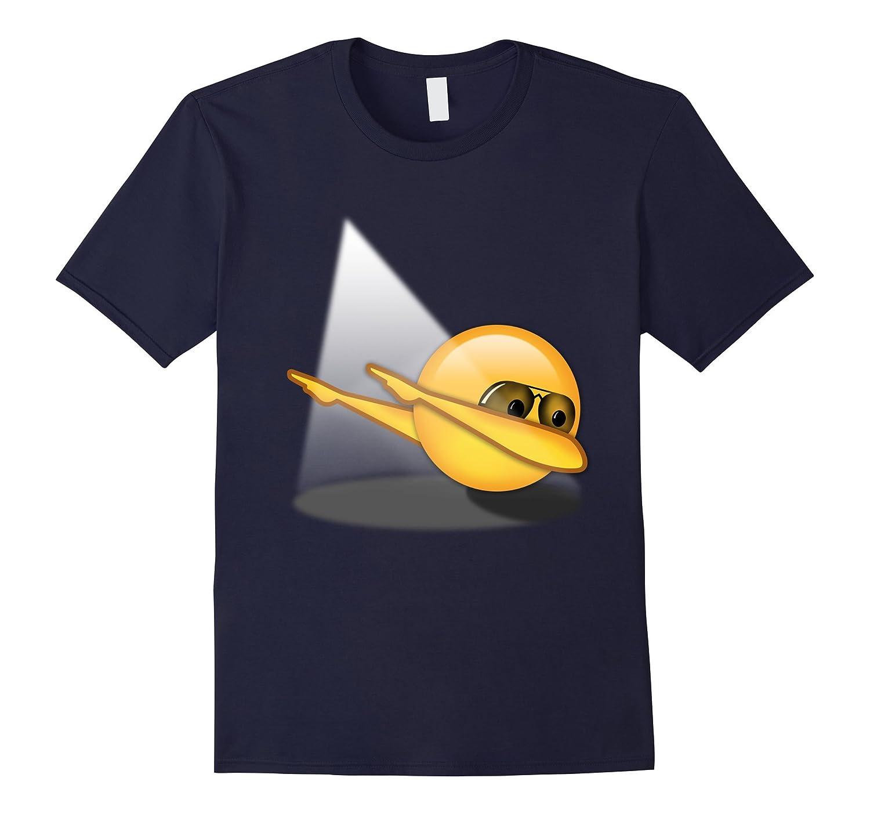 Funny Dabbing Emoji Tshirt-TD