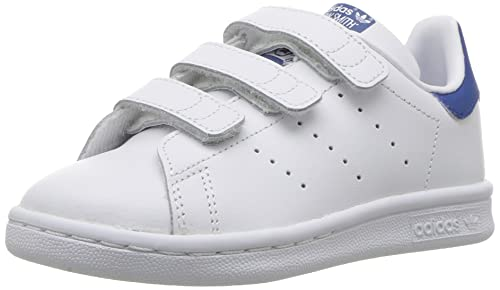 best service ed6e1 2d77f Adidas Stan Smith CF C Little Kids White/EQT Blue Size 11.5 ...