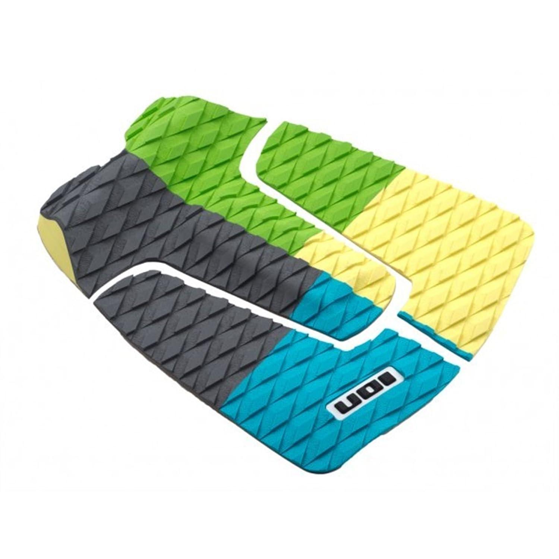ION footpad Deck Grip 3pezzi blu/giallo/verde Surf Board Wellenreiter KITE Board Pad