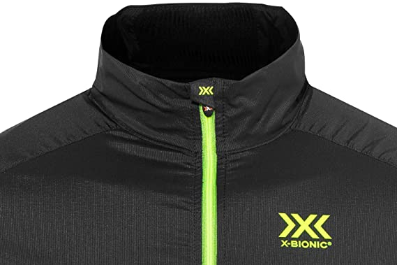 X Bionic Herren Laufjacke schwarz S: : Sport & Freizeit