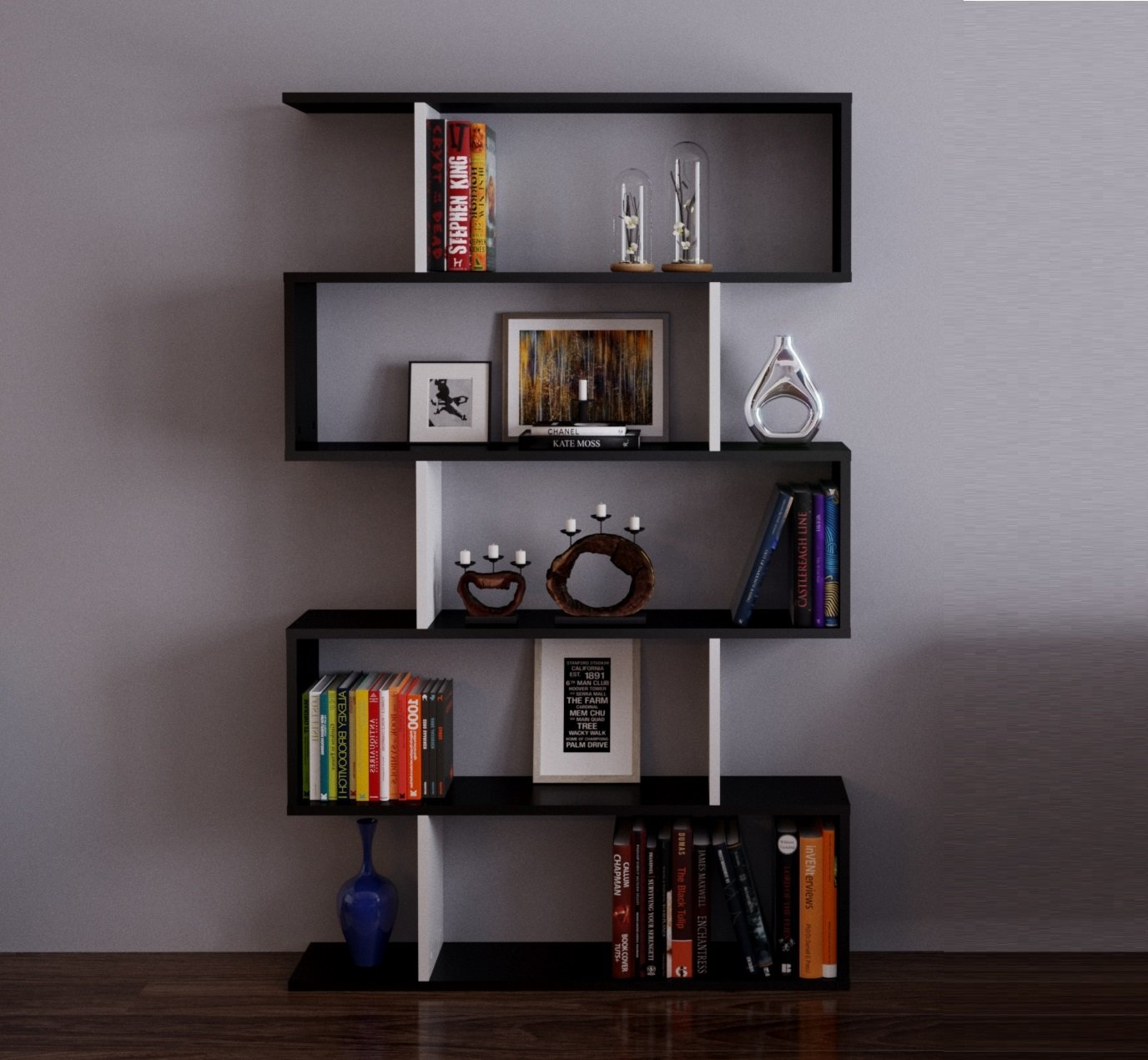 HOMIDEA Core Biblioth¨que étag¨re de Rangement étag¨re pour