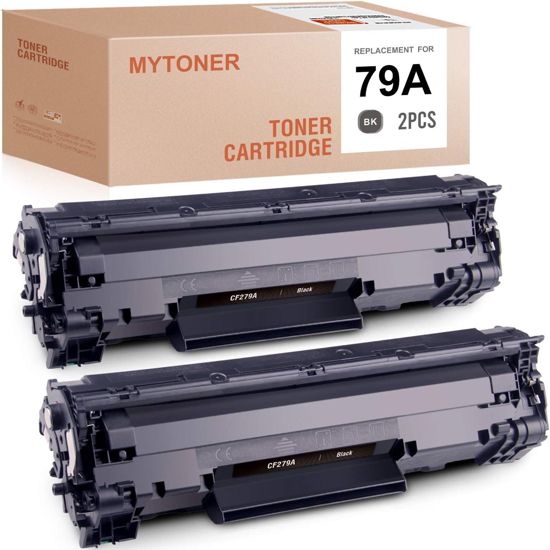 MYTONER Compatible Toner Cartridge Replacement for HP 79A CF279A for HP Laserjet Pro M12w M12a MFP M26nw MFP M26a MFP M26w(Black,2-Pack)