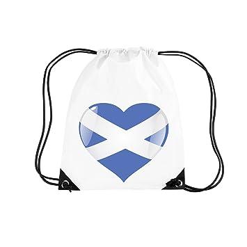 desfoli X-Style Escocia Bandera de Wm EM Fútbol Corazón ...