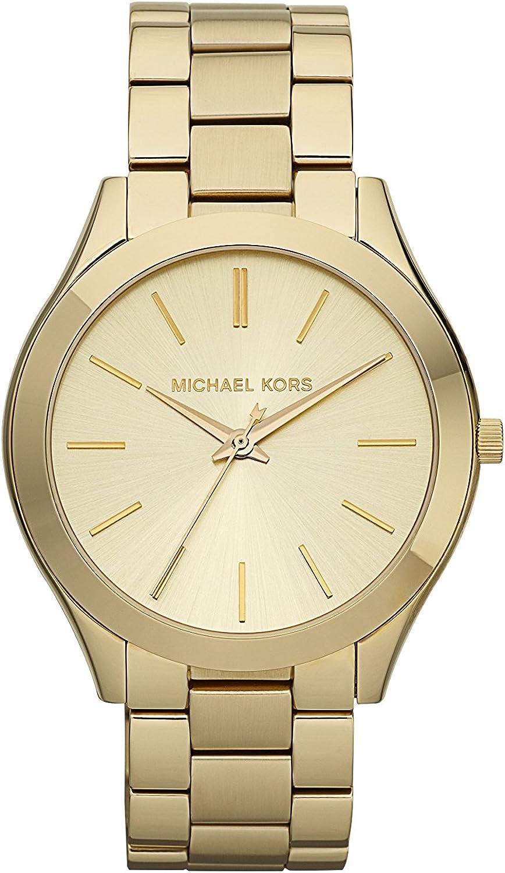 Michael Kors Slim Runway Women s Stainless Steel Watch – 42MM