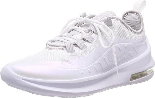 carrete Rizado habilidad  Nike Nike Air Max Axis (Gs), Unisex Running Running Shoes, White  (White/White/Vapste Grey 100), 3.5 UK (36 EU): Amazon.co.uk: Shoes & Bags
