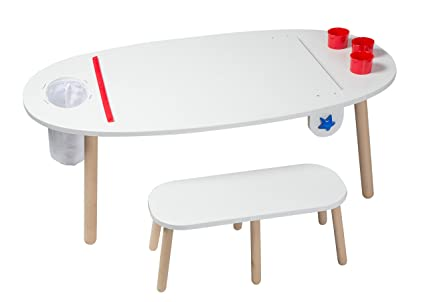 amazoncom alex toys artist studio super art table white toys u0026 games