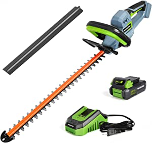 WORKPRO 20V Cordless Hedge Trimmer, 20