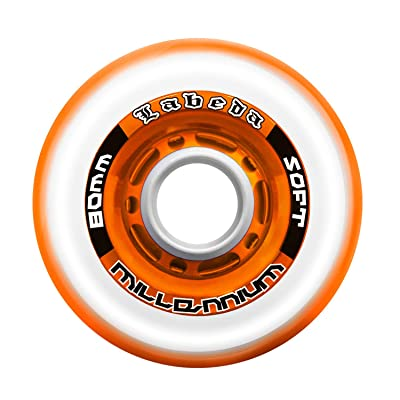 Labeda Millennium Gripper Orange Hockey Wheel 76mm Soft (Single Wheel) : Sports & Outdoors