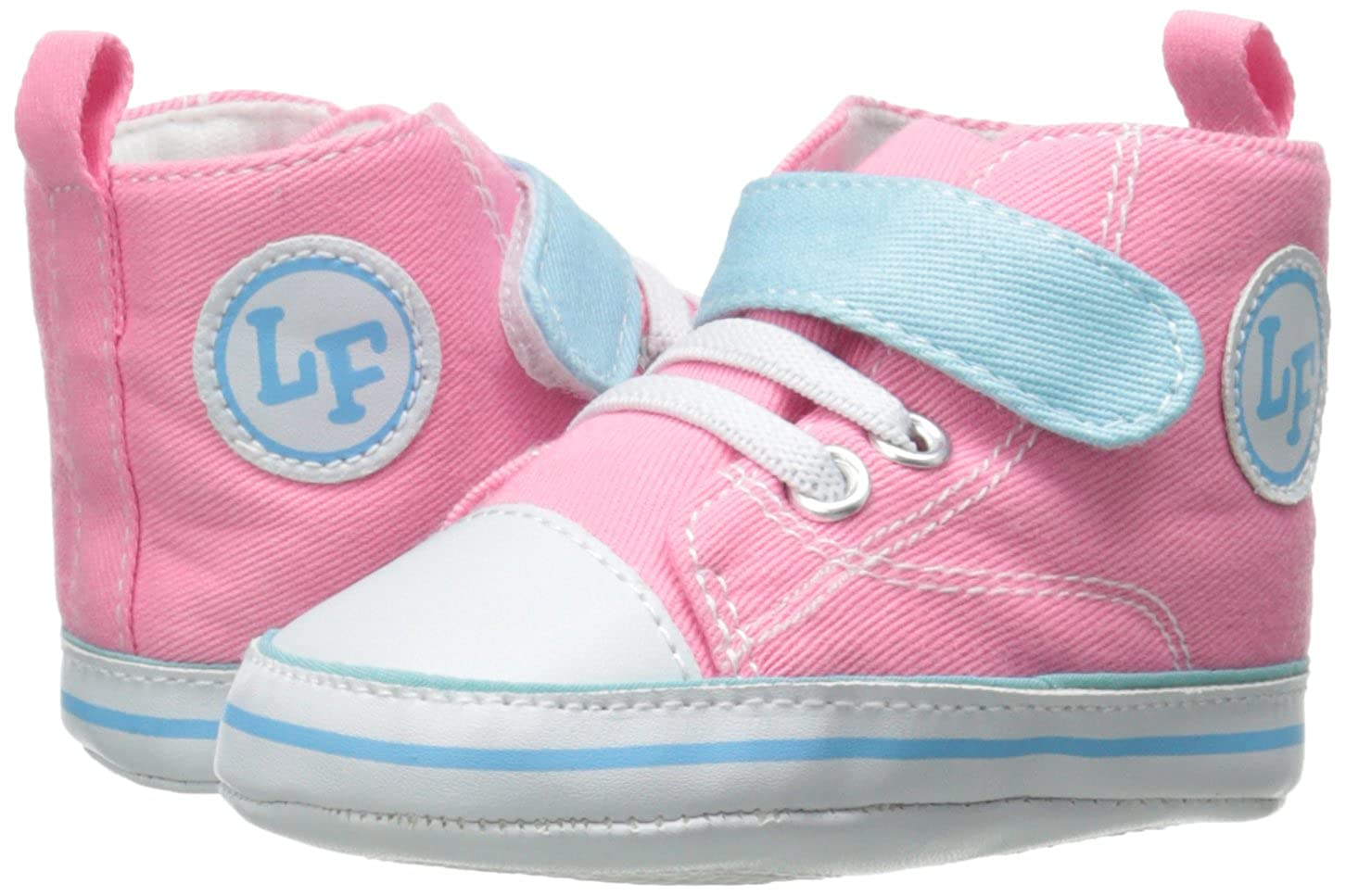 Infant Luvable Friends Color Block High Top Sneaker