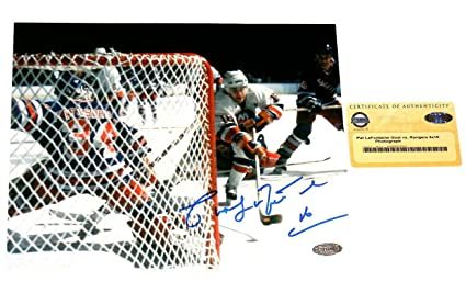 9532017ea Signed Pat LaFontaine Photograph - 8x10) - Sports Coa! - Steiner Sports  Certified -