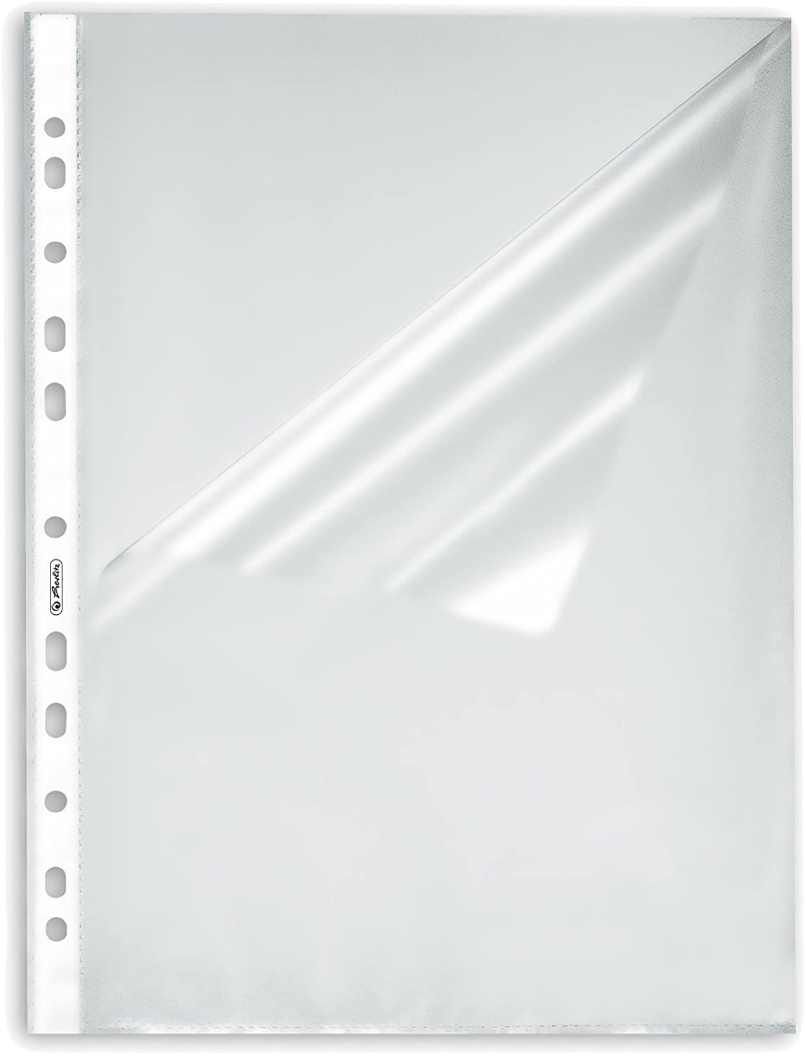 Shrink Wrapped Permanent 50 Pieces Herlitz Document Wallet A4/Grained Pack of 10