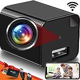 Wireless Wi-Fi Spy Camera Charger - Hidden Camera - Live Stream - Remote View - Hidden Nanny Cam - Premium Pack…