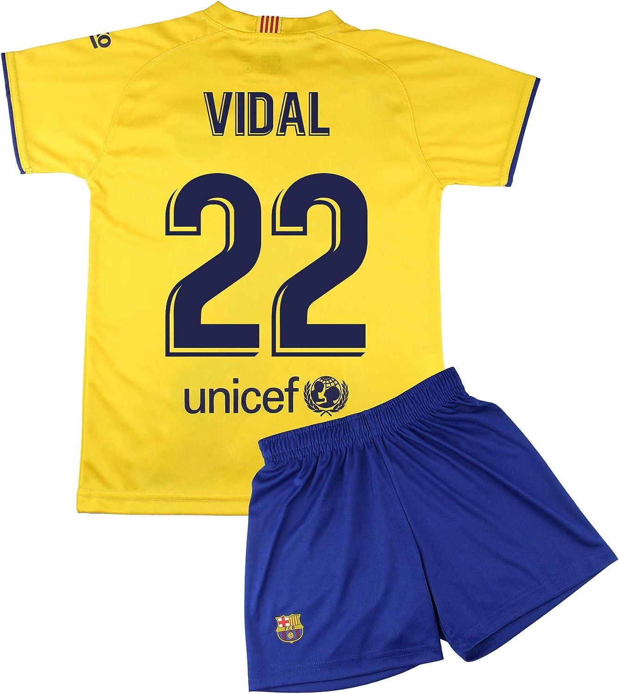 Giocatori Champions City Kit Maglietta e Pantaloni per Bambini ...