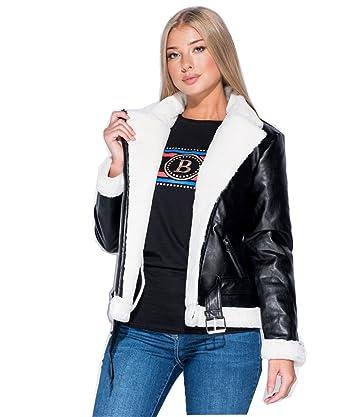 Gracious Girl - Manteau - Femme - Noir - 40  Amazon.fr  Vêtements et ... a07c154330a