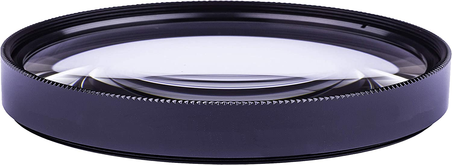 Macro 62mm Lens for Pentax K-01 10x High Definition 2 Element Close-Up
