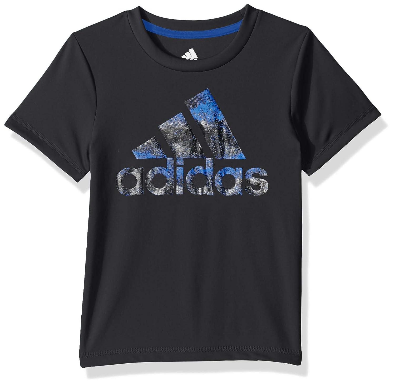 bd491a443 Amazon.com: adidas Boys' Short Sleeve Logo Tee Shirt: Clothing