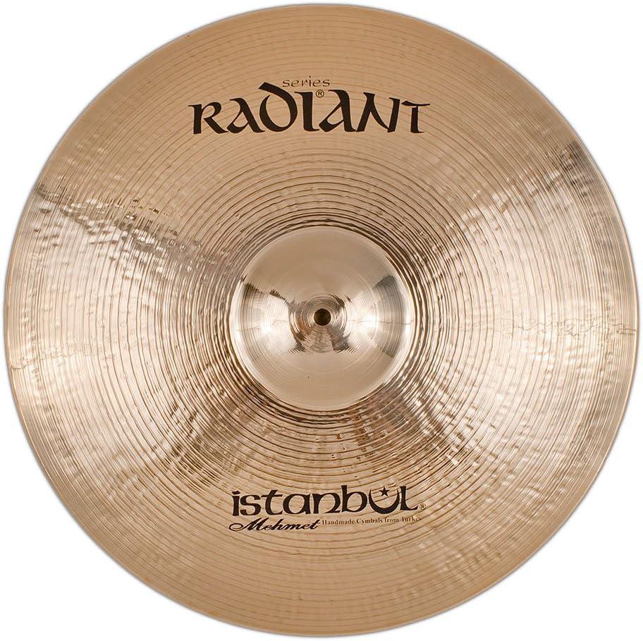 Istanbul Mehmet Cymbals Modern Series R-CM18 18-Inch Radiant Medium Crash Cymbal