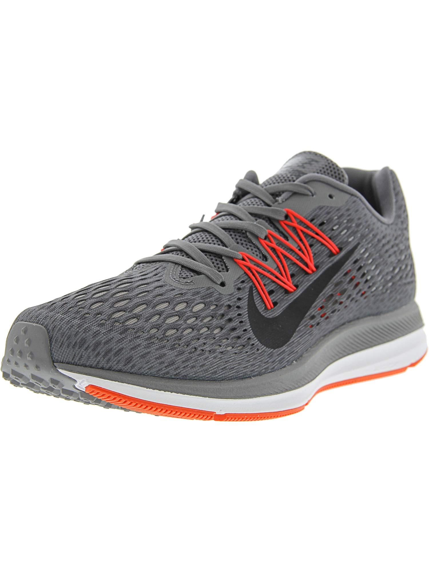 new style 8acfe 7f9d3 Nike Men's Air Zoom Winflo 5 Running Shoe (9.5 M US, Gunsmoke Grey Thunder  Grey)