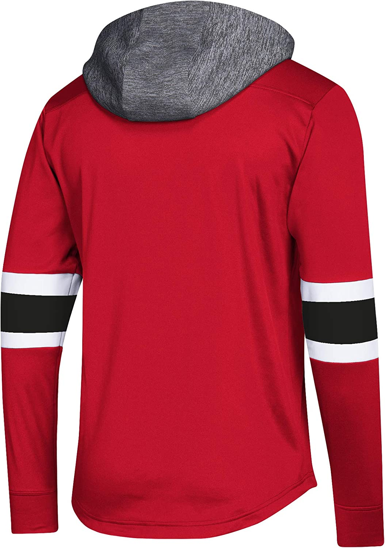 adidas NHL Mens Platinum Jersey Hooded Sweatshirt