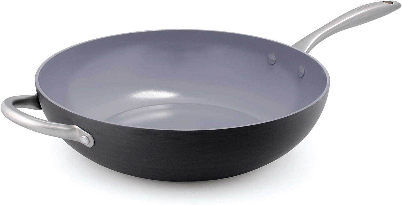 Ceramic non-stick wok