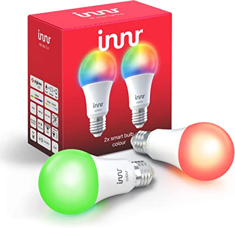 Innr E27 Smart LED Lampe, Color, kompatibel mit Philips Hue