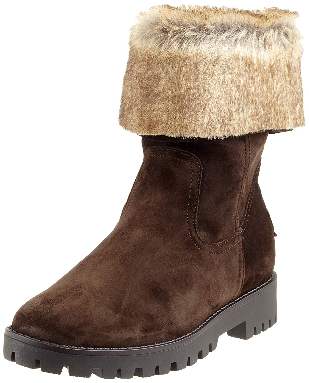 Braun (MGold 66) ARA Damen Anchorage Hohe Stiefel