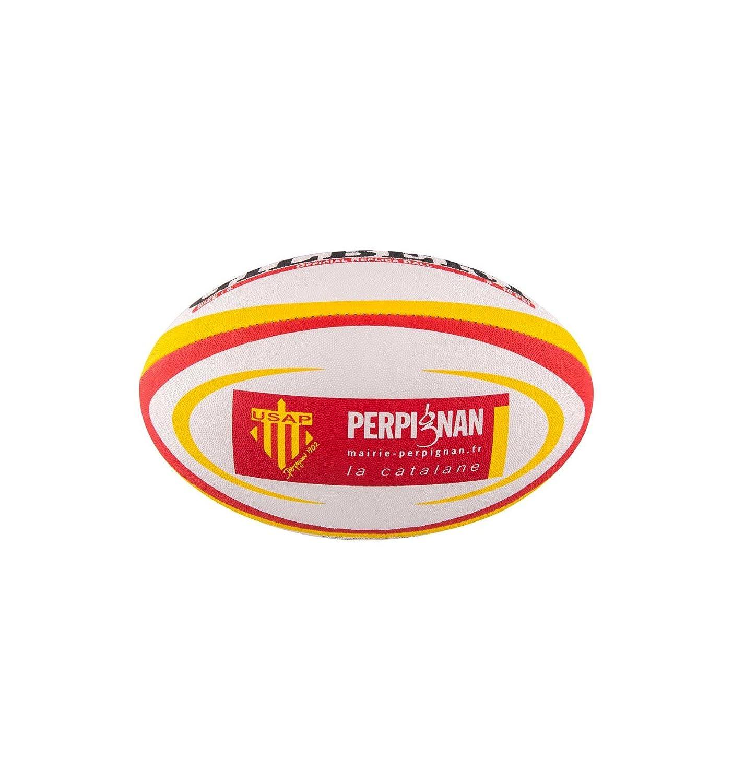 Gilbert Ballon Rugby Perpignan (USAP) réplica T5