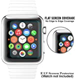 Elv HD Tempered Glass For Apple Watch 42mm (Watch Is Not Included)